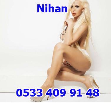 Harika güzelliği olan escort Nihan Ankara